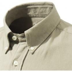 col boutonné de chemise Beretta 100% coton