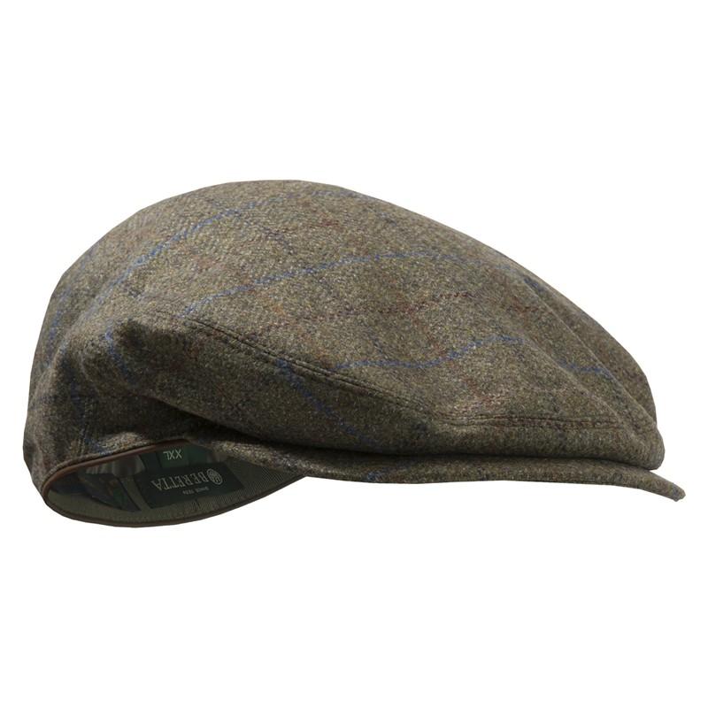 casquette en tweed Beretta