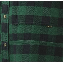 chemise bucheron à carreaux verts