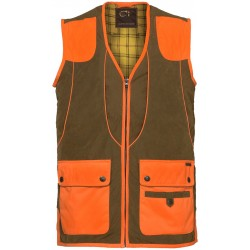 Gilet de chasse Club Interchasse Cévrus orange