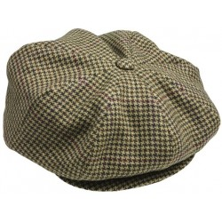 Casquette en tweed Newsboy Laksen Ainsley 58