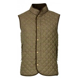 Gilet matelassé en tweed Laksen Ainsley
