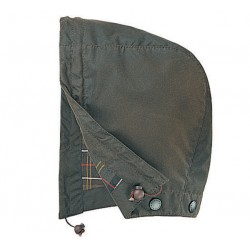 Capuche Barbour vert olive Sylkoil